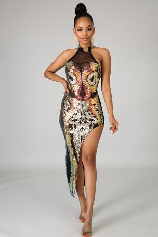 Sequin Galore Dress