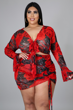 Hot Date Skirt Set