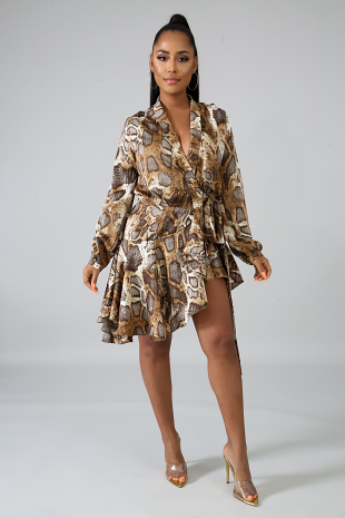 Wilding Flare Dress