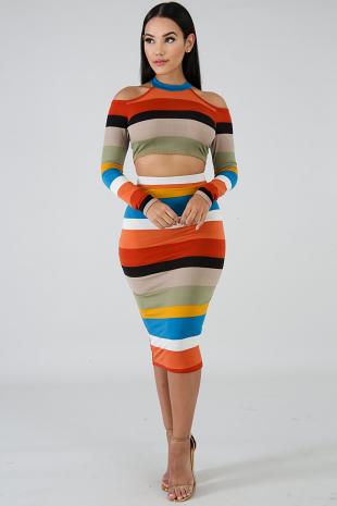 Autumn Skirt Set