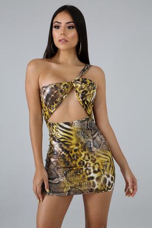 Lion Mini Dress