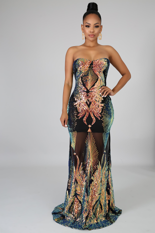 Only Yours Sequins Mermaid Dress