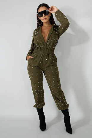 Army Pearl Jumpsuit