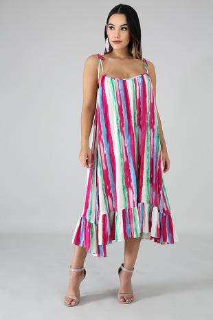 Stripes Strokes Dress