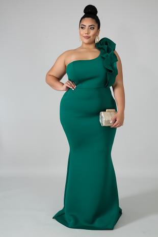 Evening Debut Maxi Dress