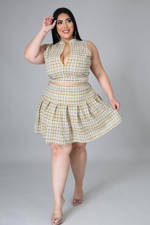 Note Taker Skirt Set