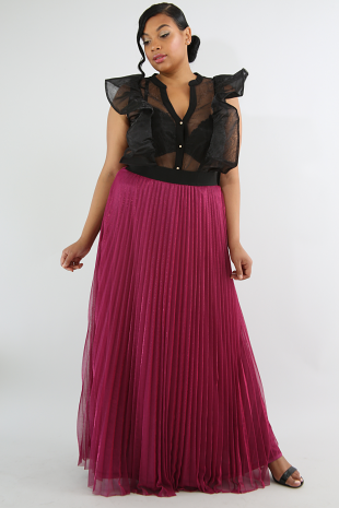Sun Shine Pleated Skirt