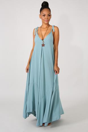 Lavish Flare Maxi Dress