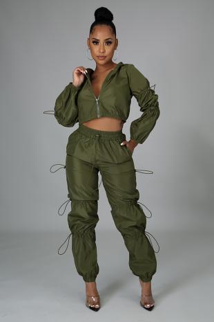 Sporty Girl Pant Set