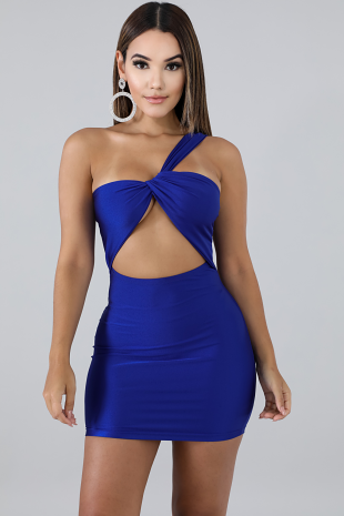 Exotic Mini Dress
