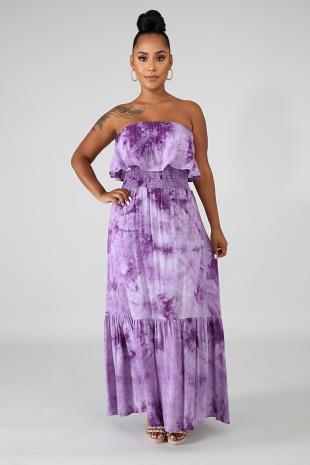 Sunny Ruffle Dress