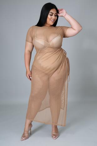 Beachy Feeling Boo Cover Up Dress