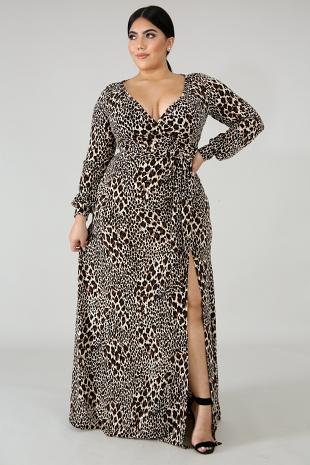 Wild Roaring Maxi Dress