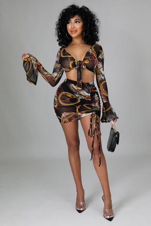 Bethany Skirt Set