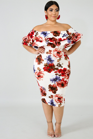 Gardenia Body-Con Dress