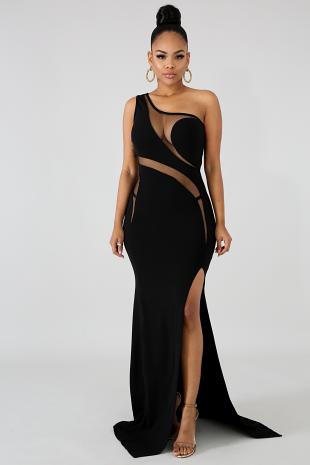 Elegance Swirl Mermaid Dress