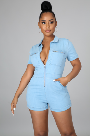 Out For A Ride Romper