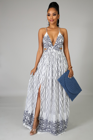 Dream Slit Maxi Dress