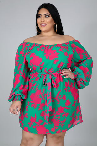 Aloha Florals Dress