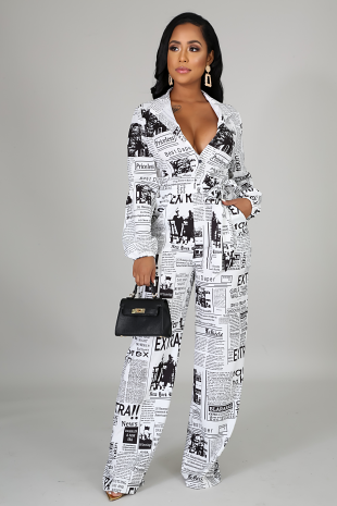 Keeping You In Sync Jumpsuit