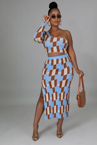 Mallory Babe Skirt Set