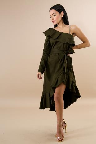 Armour Flare Dress