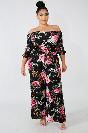 Exotic Night Jumpsuit