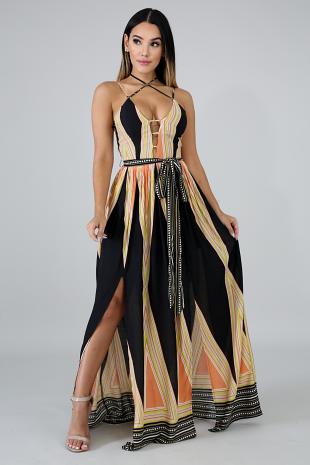 Let Loose Maxi Dress