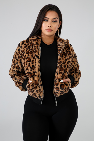 Wild Thoughts Fur Jacket
