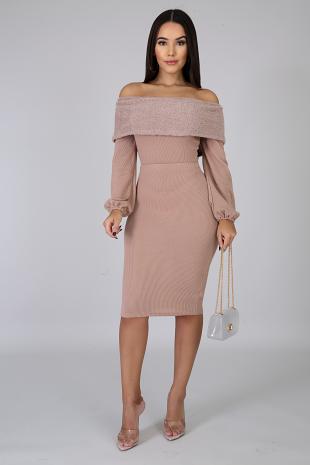 Glam Fuzzy Skirt Set