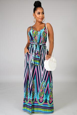Gardenia Maxi Dress
