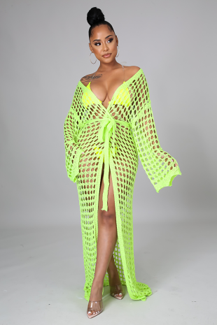 Club Beach Cover Up Dress