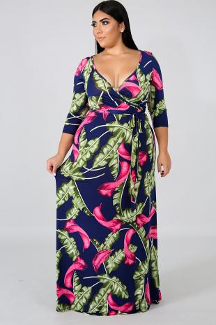 Palms Maxi Dress