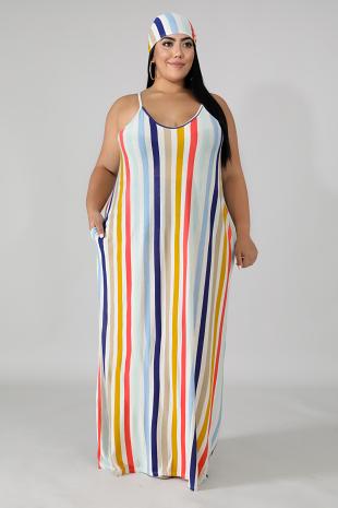 Coastal Maxi Dress