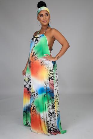 Fierce Maxi Dress