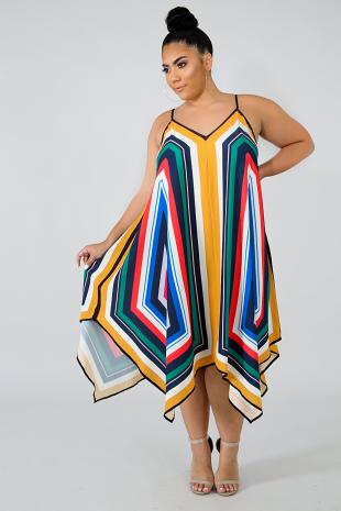 Handkerchief Holograph Dress