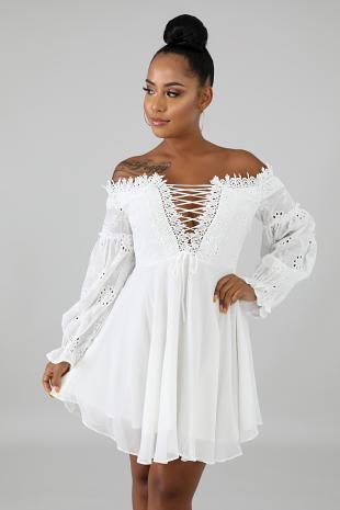 Samiya Flare Dress