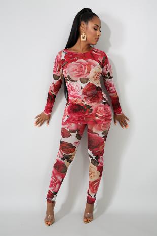 Roses Legging Set