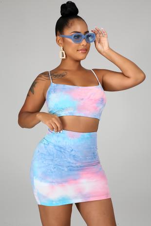 Hot Mami Skirt Set