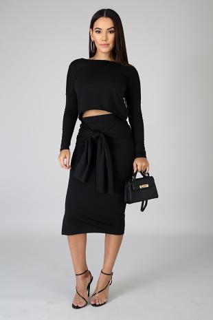 Hug Me Skirt Set