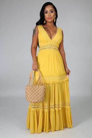 Relentless Crochet Dress