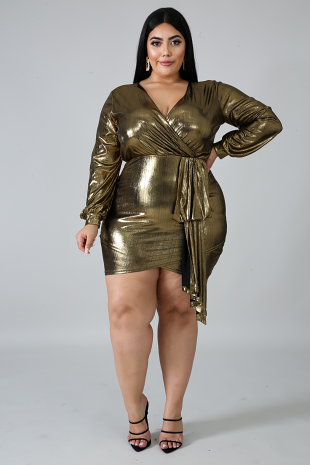 One Of Shine Body-Con Dress