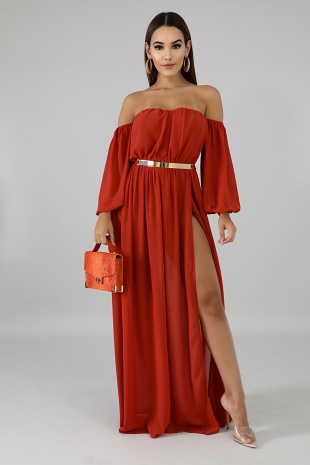 Glam Doll Maxi Dress