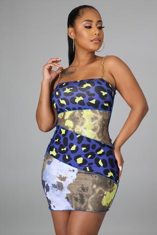 Leopard Queen Dress