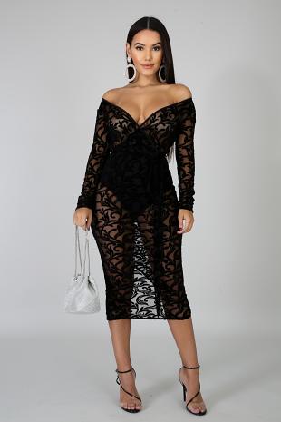 Dashing Midi Dress