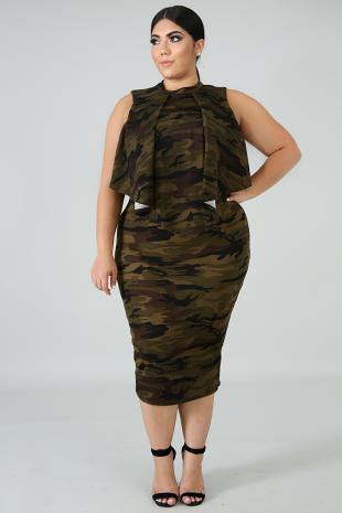Army Brat Dress