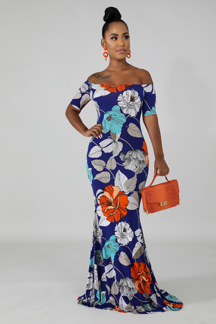 Gardenia Mermaid Dress