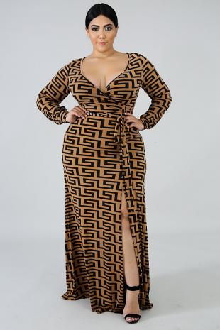 Maze Maxi Dress