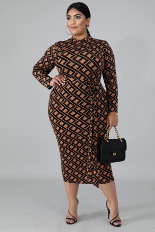 Ami Maze Dress