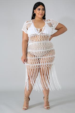 Crochet Cover Dress